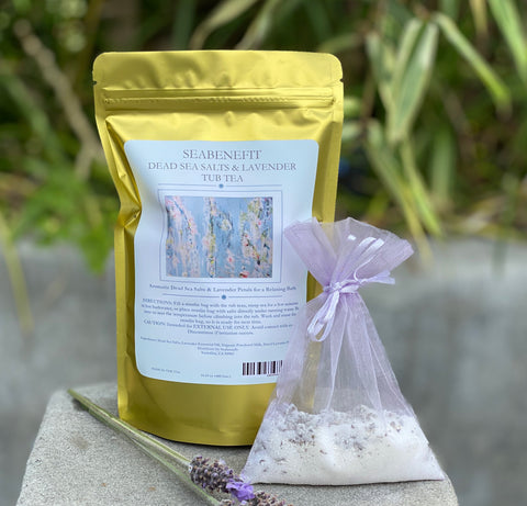 Dead Sea Salts & Lavender Tub Tea