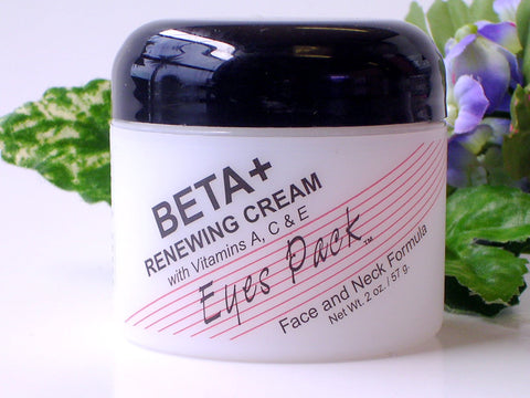Beta PLUS (Beta Hydroxy)  Renewing Cream With Vitamin A, C & E. Face and Neck Formula 2 oz