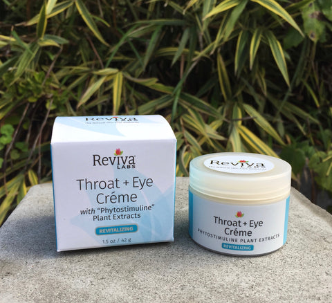 Throat & Eye Cream w/Aloe, Phytostimuline Plant Extract