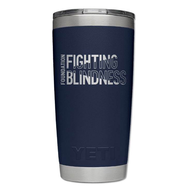 Branded Yeti Rambler 20 oz. Tumblr with Magslider Lid