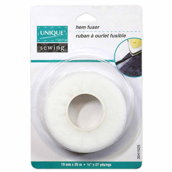Ruban à ourlet fusible 19mm