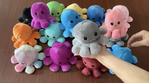 stuffed octopus plush