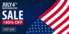 July 4th Independence Sale