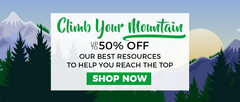 Climb Your Mountain Sale