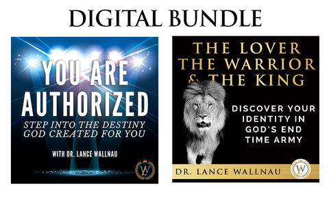 The Lover, The Warrior, & The King AND You Are Authorized Digital Bundle (MP3 Download)