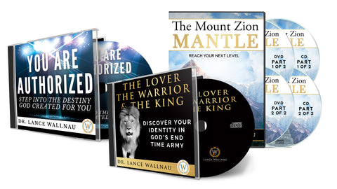 Bundle: The Mount Zion Mantle, You Are Authorized, and The Lover, The Warrior, & The King