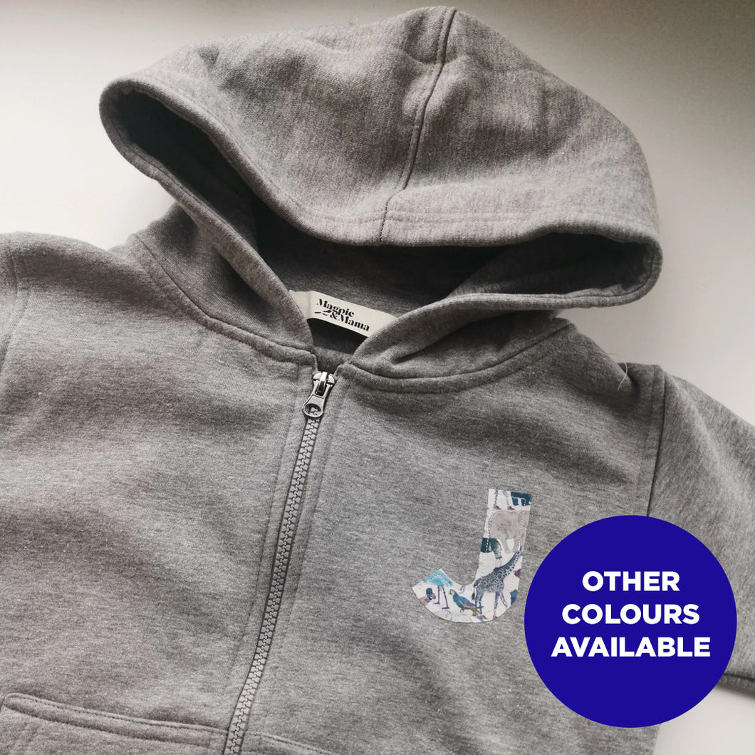 Who You Be (Small Initial) - Zip Up