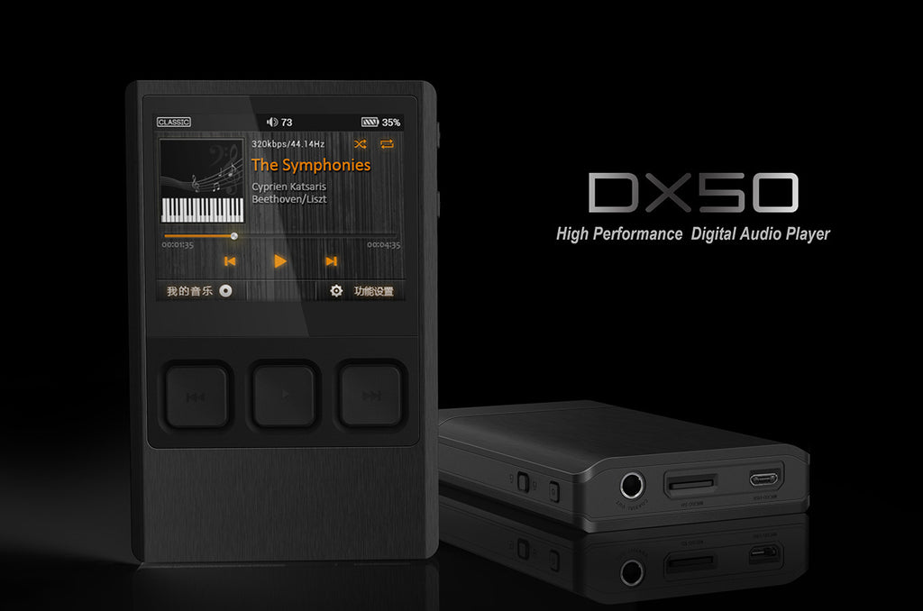 iBasso DX50 with Dignis Leather Case