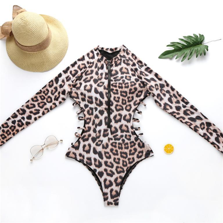 Snake print one piece swimsuit, Vega brand.
