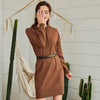 Winter 2020 - Women's Knitwear Short Dress for Autumn - VEGA