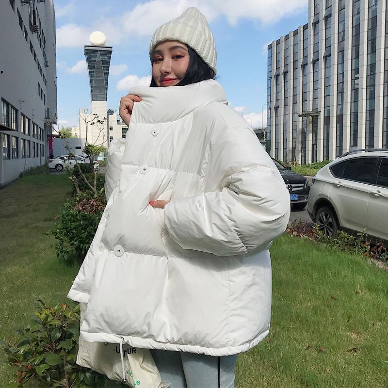 Short cotton coat women 2019 new cotton coat ins winter student bread coat loose casual winter coat