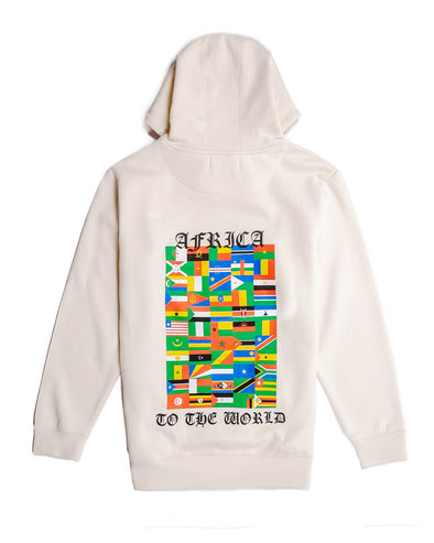 Nations Of Africa Hoodie (off white)