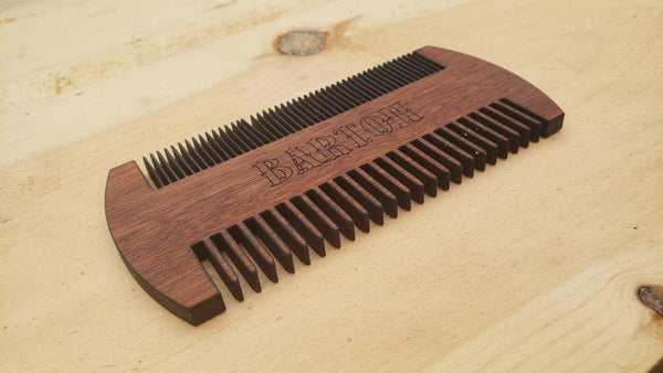 Custom Engraved Wooden Hair Comb