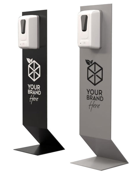 customizable hand sanitizing stations