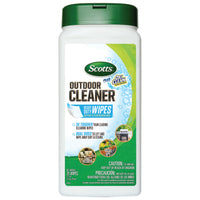 Scott's outdoor cleaning wipes disinfectant