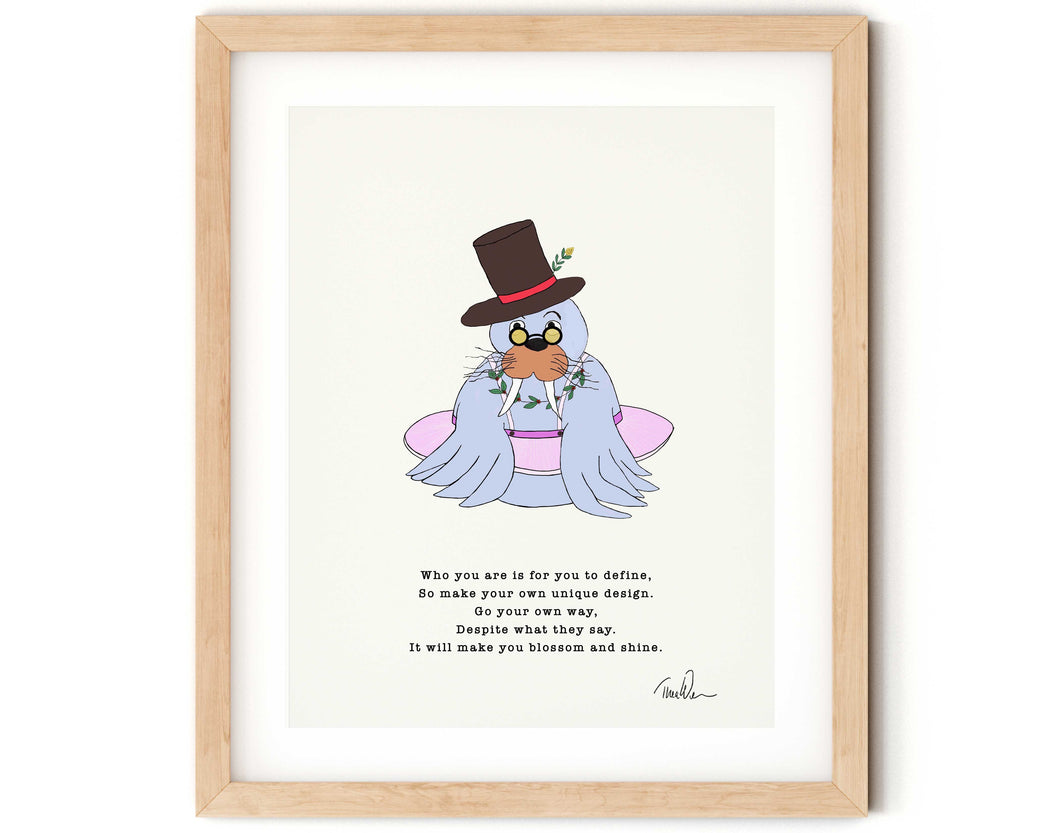Perfectly Unique Nursery Rhyme Print