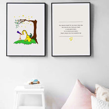 Load image into Gallery viewer, Dreamy Giraffe Nursery Rhyme and Print Set