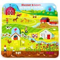100 Words on the Farm Book-9781680523690-Pumpkin Pie Kids Canada