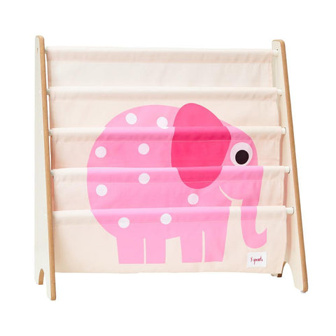 3 Sprouts Book Rack - Elephant-CRKELE-Pumpkin Pie Kids Canada