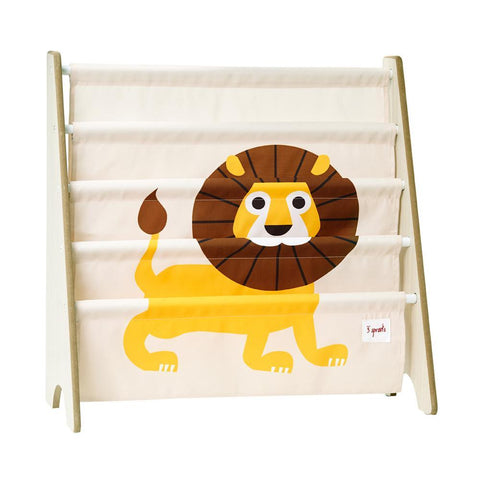 3 Sprouts Book Rack - Lion-CRKLIO-Pumpkin Pie Kids Canada