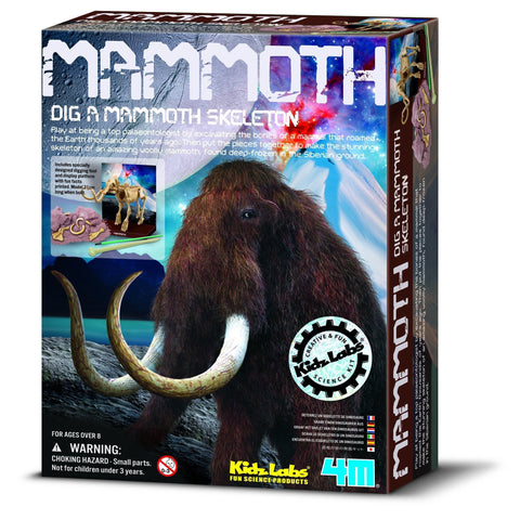 4M Dig A Mammoth-P3236-Pumpkin Pie Kids Canada