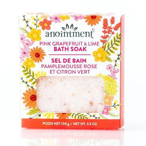 Anointment Pink Grapefruit & Lime Bath Soak-ANT94-Pumpkin Pie Kids Canada
