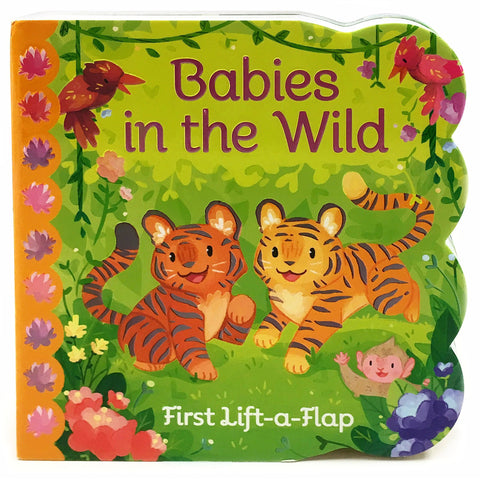 Babies in the Wild Lift-a-Flap Board Book-9781680522334-Pumpkin Pie Kids Canada