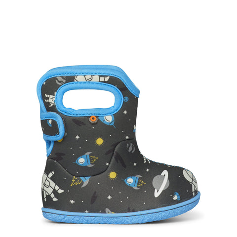 Baby Bogs Boots Spaceman - Dark Grey Multi-Pumpkin Pie Kids Canada