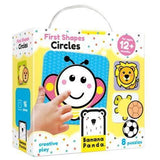 Banana Panda First Shapes - Circle-BP33668-Pumpkin Pie Kids Canada