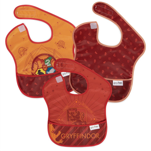 Bumkins Superbib 3pk - Harry Potter Gryffindor-BK1800-Pumpkin Pie Kids Canada