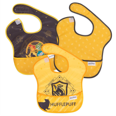 Bumkins Superbib 3pk - Harry Potter Hufflepuff-BK1802-Pumpkin Pie Kids Canada