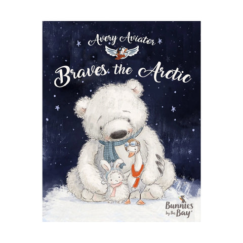 Bunnies by the Bay Avery the Aviator Braves the Arctic Book-106017-Pumpkin Pie Kids Canada