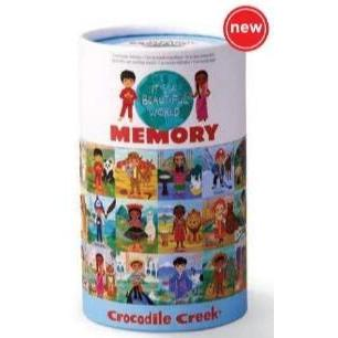 Crocodile Creek Canister Memory Game - Beautiful World-77000-Pumpkin Pie Kids Canada