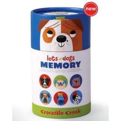 Crocodile Creek Canister Memory Game - Lots of Dogs-70002-Pumpkin Pie Kids Canada