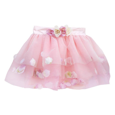 Great Pretenders Golden Rose Petal Skirt-42815 4-6-Pumpkin Pie Kids Canada