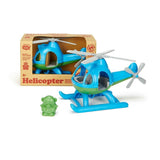 Green Toys Helicopter - Blue-HELB-1061-Pumpkin Pie Kids Canada