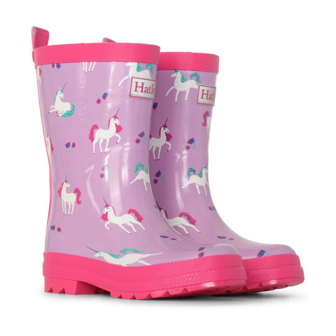 Hatley Rain Boots - Playful Unicorns-Pumpkin Pie Kids Canada