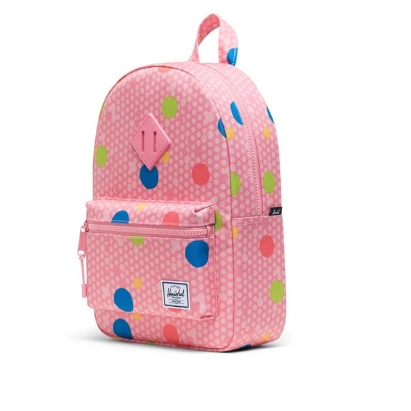 Herschel Heritage Kids Backpack - Primary Dot-10313-03267-Pumpkin Pie Kids Canada
