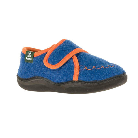 Kamik Cozylodge Slipper - Blue-HK9004 BLU 5-Pumpkin Pie Kids Canada