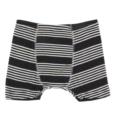 KicKee Pants Boxer Brief Single - Zebra Agricultue Stripe-Pumpkin Pie Kids Canada