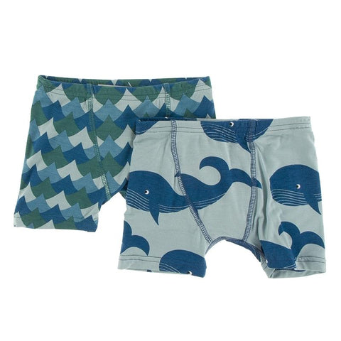 KicKee Pants Boxer Briefs 2pk - Ivy Waves & Jade Whales-BB47F19D3-IVWJWH 34-Pumpkin Pie Kids Canada