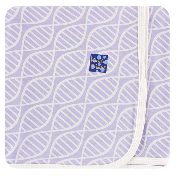 KicKee Pants Swadding Blanket - Lilac Double Helix-SPB3985S20D2-LDH-Pumpkin Pie Kids Canada