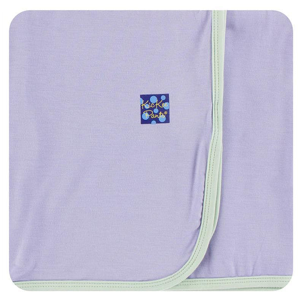 KicKee Pants Swaddling Blanket - Lilac with Aloe-SPB3984-LCAO-Pumpkin Pie Kids Canada