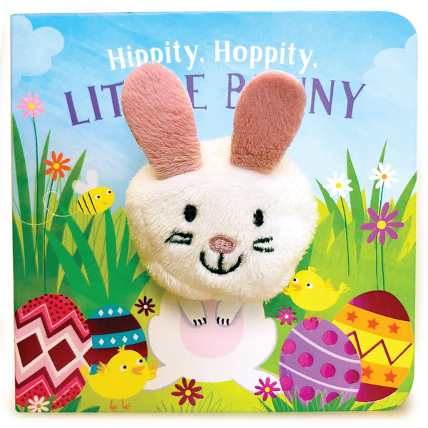 Little Learners Hippity, Hoppity, Little Bunny Finger Puppet Book-9781680524772-Pumpkin Pie Kids Canada
