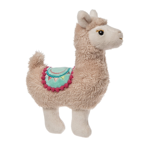 "Mary Meyer Lily Llama Rattle 5""-MM-43060-Pumpkin Pie Kids Canada"