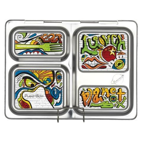 PlanetBox Launch Magnet - Graffiti-1231-Pumpkin Pie Kids Canada