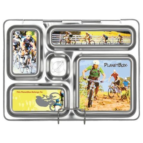PlanetBox Rover Magnet - Bicycles-1248-Pumpkin Pie Kids Canada