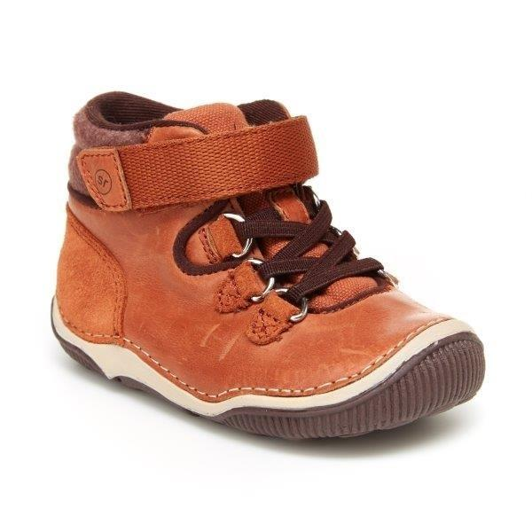 Stride Rite SRT Gavin Boot - Sierra-Pumpkin Pie Kids Canada
