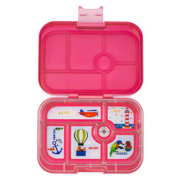 Yumbox Original 6 - Lotus Pink-LP-I-20191-E-Pumpkin Pie Kids Canada