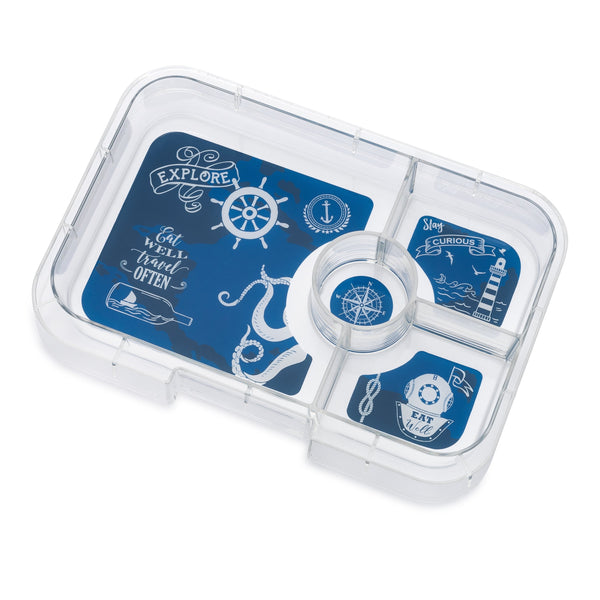 Yumbox Tapas 4 Compartment Tray - Explore-TR-III-201903-E-Pumpkin Pie Kids Canada